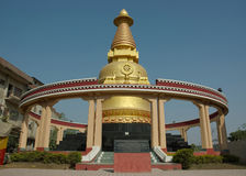Kadam stupa in Bodhgaya,India Royalty Free Stock Photography