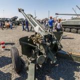 The 120 mm gun/mortar combine system 2B16 NONA-K royalty free stock photography