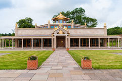 Kadampa Buddhist Temple Royalty Free Stock Photography