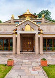 Kadampa Buddhist Temple doorway Royalty Free Stock Photos
