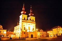 Kadan, Czech Republic - historical monuments Royalty Free Stock Photos