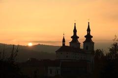 Kadan kyrka Royaltyfria Foton