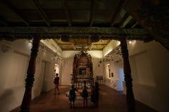 Kadavumbagam synagogue from Cochin, India Royalty Free Stock Photo