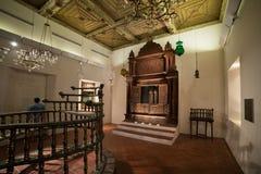 Kadavumbagam synagogue from Cochin, India royalty free stock photography