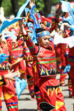 Kadayawan good harvest Festival. Picture of a festival street parade during Kadayawan festival, Davao City Philippines Stock Image