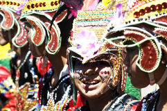 Kadayawan good harvest Festival. Picture of a festival street parade during Kadayawan festival, Davao City Philippines Stock Photo