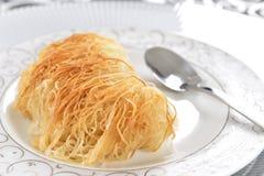 Kadayif Dessert Royalty Free Stock Photo