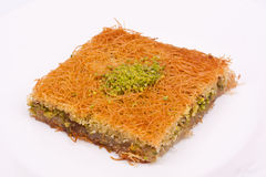 Kadayif dessert Royalty Free Stock Images