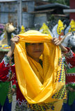 Kadaywan leende royaltyfri fotografi