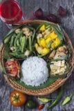 Kadazan Dusun jedzenie fotografia royalty free