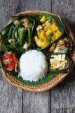 Kadazan Dusun jedzenie obrazy stock