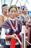 Kadazan Dusun People Of Borneo With Traditional Costume Royalty Free Stock Photography