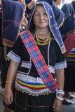 Kadazan dusun traditioneel kostuum stock fotografie