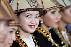 Kadazan Papar skönhet Royaltyfria Foton