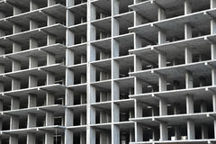 Kader de bouw in aanbouw van beton Stock Afbeelding