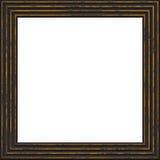 Kader donkere die 3d grunge op wit wordt geïsoleerd Royalty-vrije Stock Foto's