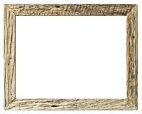 Kader houten uitstekende eenvoudige stijl royalty-vrije stock foto's