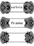 Kader in In Keltische stijl Stock Afbeeldingen