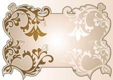 Kader-koffie royalty-vrije illustratie