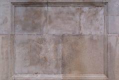Kader op oude grijze muur Royalty-vrije Stock Foto's