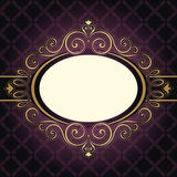 Kader Uitstekende Purple Royalty-vrije Stock Foto's