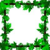 Kader van bladeren Royalty-vrije Stock Afbeelding
