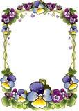 Kader van bloemen Stock Afbeelding