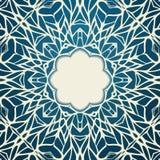 Kader van het mozaïek het sierkant, abstracte achtergrond Royalty-vrije Stock Fotografie