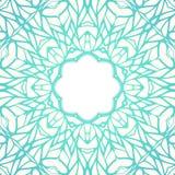 Kader van het mozaïek het sierkant, abstracte achtergrond Royalty-vrije Stock Afbeeldingen