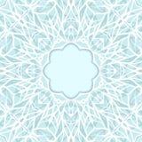 Kader van het mozaïek het sierkant, abstracte achtergrond Stock Afbeelding