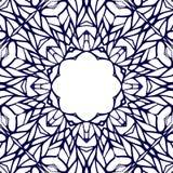 Kader van het mozaïek het sierkant, abstracte achtergrond Royalty-vrije Stock Afbeelding