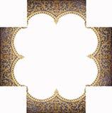 Kader van het patroon van de tempel Royalty-vrije Stock Fotografie