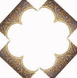 Kader van het patroon van de tempel Royalty-vrije Stock Foto's