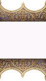 Kader van het patroon van de tempel Royalty-vrije Stock Afbeeldingen