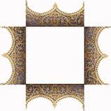 Kader van het patroon van de tempel Stock Foto