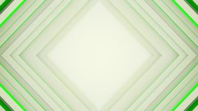 Kader van het witte en groene ruitvormige lijnen 3D teruggeven vector illustratie