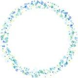 Kader van pastelkleurwaterverf het schilderen textuur Royalty-vrije Stock Foto