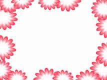 Kader van roze bloemen wordt gemaakt die Vector stock foto's