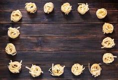 Kader van spagetti Royalty-vrije Stock Fotografie