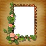 Kader voor foto royalty-vrije illustratie