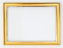 Kadergoud op een witte achtergrond royalty-vrije stock fotografie