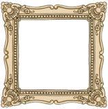 Kadergrens het uitstekende schilderen Royalty-vrije Stock Fotografie