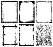 Kaders en Texturen stock illustratie