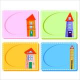 0116_28 kaderskaarten Royalty-vrije Stock Fotografie