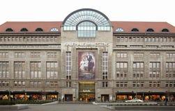 Kadewe商城外部在柏林 库存照片