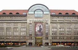 Kadewe shopping mall exterior in Berlin. Kadewe is the second largest department store in Europe Stock Photo