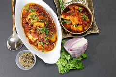 Kadhai Paneer Royalty Free Stock Photography
