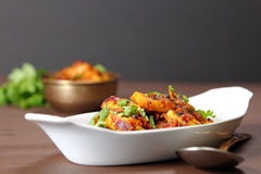 Kadhai Paneer Stock Photo