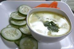 Kadhi, caril do iogurte imagem de stock royalty free