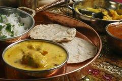 Kadhi Pakori - un piatto dal Gujarat Immagine Stock Libera da Diritti